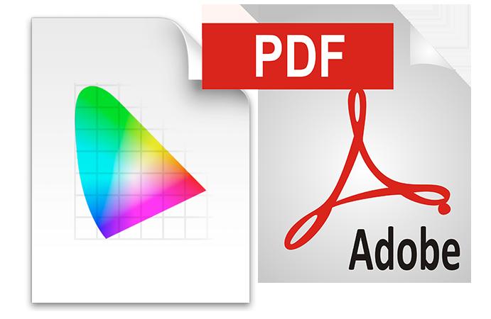 Fargestyring og PDF